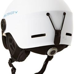 Black Crevice Ski Helmet