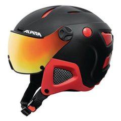 Alpina Unisex Attelas Visor QVM Ski Helmet