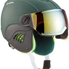 Alpina Carat LE Children's Ski Helmet with Visor HM