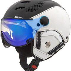Alpina Jump JV Exclusive Visor Ski Helmet