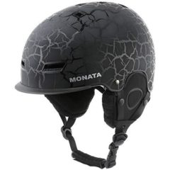 MONATA Adult Ski & Snowboard Helmet for Men and Women Winter Snow Sports Protect – Adjustable Large Size 23.22-24 Inches