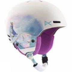 Anon Kid's Rime Snow Helmet White /Patterned