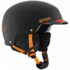 Anon Kids Scout Helmet BONES BLACK