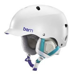 Bern Lenox Thin Shell Womens Helmet 2016 Satin White M / L