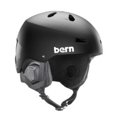 Bern Macon EPS Helmet 2018 Matte Black Small