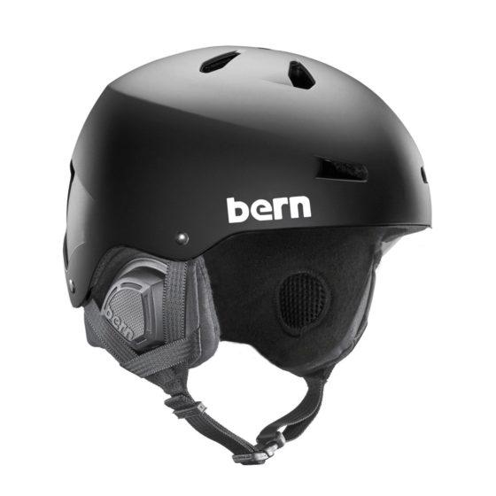 Bern Macon EPS Helmet 2018 Matte Black Small