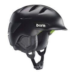 Bern Rollins Zipmold Snowboard Helmet 2015 Matte Black S/M
