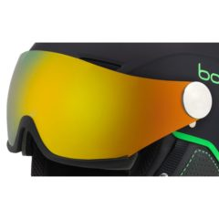 Bolle Backline Replacement Visor – Fire Green