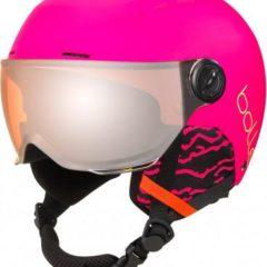 Kids Quiz Visor Helmet Pink