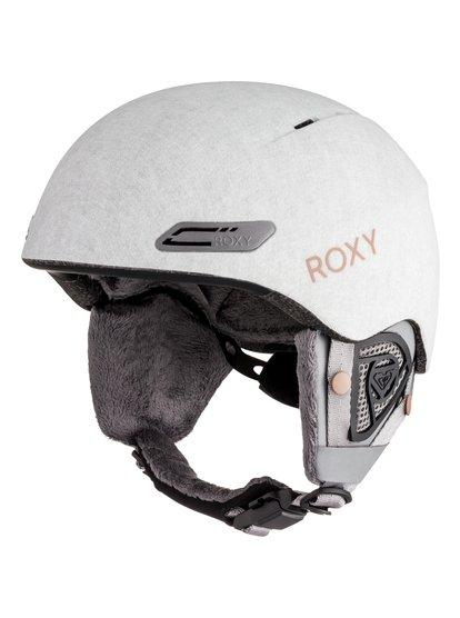 Love Is All - Snowboard Helmet for Women - Grey - Roxy