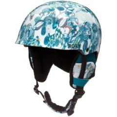Roxy Clothing Girls Happyland Fleece Lined Snowboard Ski Helmet 50cm