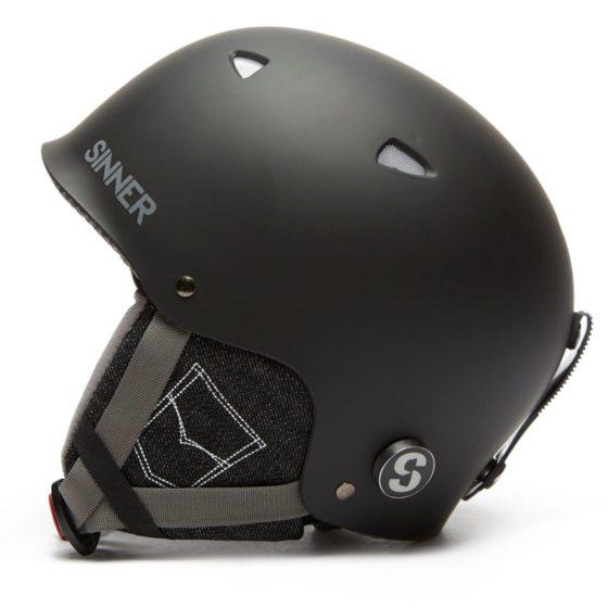 Sinner Magic Ski Helmet, Black