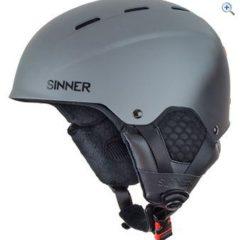 Sinner Men's Typhoon Ski Helmet - Size: M - Colour: MATTE DK GREY