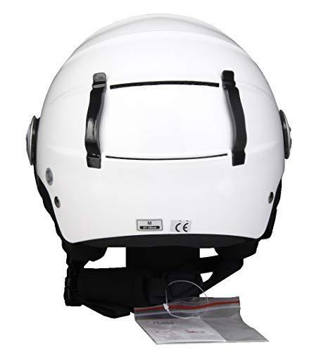 57//58/cm BHR 83172/Demi Jet Line Ski Helmet 820 Size M White