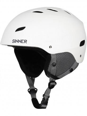 Mens Womens Bingham Helmet White